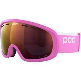 POC Fovea Mid Clarity Masque, actinium pink/spektris orange